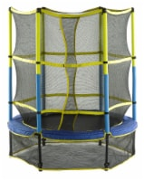 Upper Bounce Kid-Friendly Trampoline & Enclosure Set