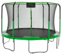 15 FT Round Trampoline Set with Premium Top-Ring Flex Frame Safety Enclosure System