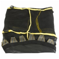 """Trampoline Jumping Mat With Attached Safety Net and Clips, Fits 55"""" Round Trampoline Frame"""