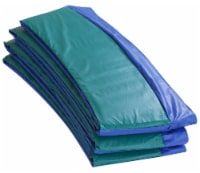 Super Spring Cover - Safety Pad, Fits 15 FT Round Trampoline Frame - Blue/Green - Round 15 ft