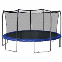 Safety Enclosure Net, Fits 17' X 17' Oval Frame,6 Poles -  Installs Outside of Frame