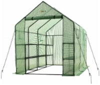 Ogrow Walk In 2 Tier 12 Shelf Portable Greenhouse