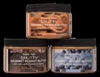 GOURMET PEANUT BUTTER- BEST SELLERS | 3 PACK - 3 JARS/12 OUNCES EACH