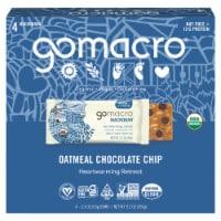 GoMacro MacroBar Oatmeal Chocolate Chip Bars - 4 ct / 2.3 oz