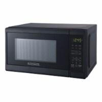 Black+Decker 700 Watt 0.7 Cubic Feet Countertop Microwave Oven, Matte Black - 1 Unit