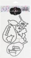 Colorado Craft Company Metal Die Set-Hugs & Pears-Big & Bold - 1
