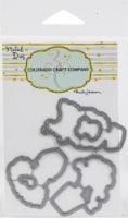 Colorado Craft Company Metal Die Set-Topiaries & Kitten-By Anita Jeram - 1