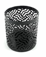 Vibhsa Votive Candle Holder - Black