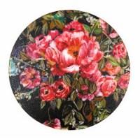 VIBHSA Designer Floral Cosmos Tea Coasters