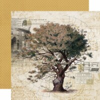 Simple Vintage Ancestry Double-Sided Cardstock 12 X12 -Family Tree - 1