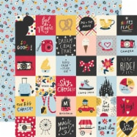 Say Cheese Main Street Double-Sided Cardstock 12 X12 -2 X2  Elements - 1