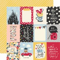 Say Cheese Main Street Double-Sided Cardstock 12 X12 -3 X4  Elements - 1