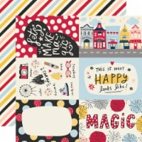 Say Cheese Main Street Double-Sided Cardstock 12 X12 -4 X6  Elements - 1