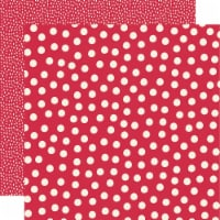 Say Cheese Main Street Double-Sided Cardstock 12 X12 -Red Dots Simple Basics - 1
