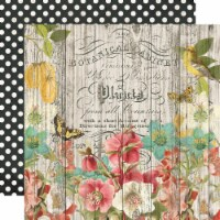 Simple Vintage Cottage Fields Double-Sided Cardstock 12 X12 -Natural Beauty - 1