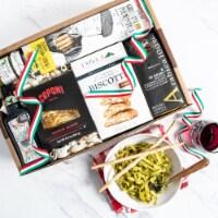 Gourmet Italian Essentials Gift Basket - 1