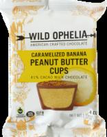 Wild Ophelia Caramelized Banana Peanut Butter Cups - 1.37 oz