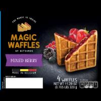 Betramos Mixed Berry Magic Waffles