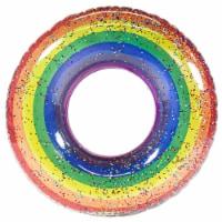 PoolCandy Rainbow Glitter Pool Tube - 1 ct