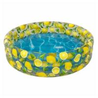 PoolCandy Lemon Inflatable Sunning Pool - 1 ct