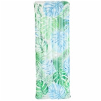 PoolCandy Palm Print Deluxe Pool Raft - 1 ct