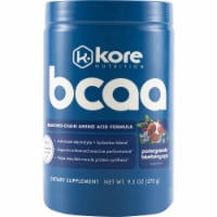 Kore Nutrition BCAA Pomegranate Blueberry Acai Dietary Supplement