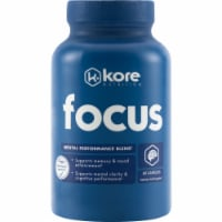 Kore Nutrition Focus Dietary Supplement Capsules 60 Count - 60 ct
