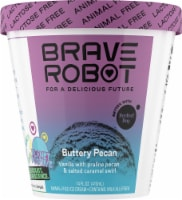 Brave Robot Buttery Pecan Animal-Free Ice Cream