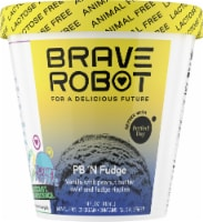 Brave Robot PB 'N Fudge Animal-Free Ice Cream