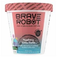 Brave Robot Raspberry White Truffle Animal-Free Ice Cream
