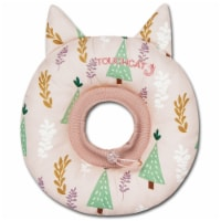 Ringlet' Licking and Scratching Adjustable Pillow Cat Neck Protector - Medium / Pink