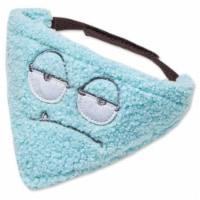 'Dizzy-Eyed Cyclops' Cotton Velcro Dog Bandana and Scarf - Small / Blue - 1