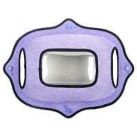 Purr-view' See-through Suction Cup Kitty Cat Lounger and Bed - One Size / Purple