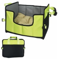 Pet Life  'Travel-Nest' Folding Travel Cat and Dog Bed - Small / Green