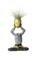 LiveTrends Namaste Dead Potted Plant - 1 ct