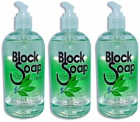 Block Island Block Soap West Beach Bayberry Fragrance Liquid Hand Soap 3 Count