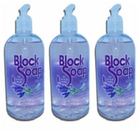 BlockSoap Crescent Beach Lavender Fragrance Liquid Hand Soap 3 Count