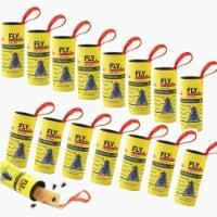 Fly Catcher Trap, Fly Trap, Fly Bait, Fly Paper Ribbon, Sticky Fly Ribbons, Fly Paper -32 Pks - 32 pks