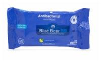 (12) Blue Bear 99 Antibacterial Wipes - 15 Count Packs