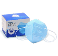 Blue KN95 Mask - 100 Count - 100