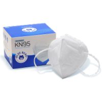 White KN95 Mask - 100 Count - 100