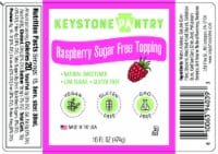 Keystone Pantry Raspberry Flavored Topping