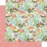 Bird Watcher Double-Sided Cardstock 12 X12 -Just Breathe - 1