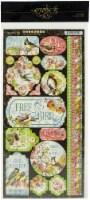 Bird Watcher Cardstock Stickers 12 X12 - - 1