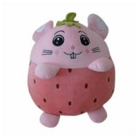 Strawberry Plush Pillow, Baby Blanket, Strawberry Plush Toy, Stuffed Animal, 16 Inches