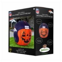Denver Broncos Team Pride Inflatable Jack-O'-Helmet - 4 ft