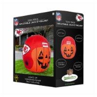 Kansas City Chiefs Team Pride Inflatable Jack-O'-Helmet - 4 ft