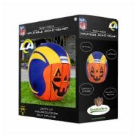 Los Angeles Rams Team Pride Inflatable Jack-O'-Helmet - 4 ft