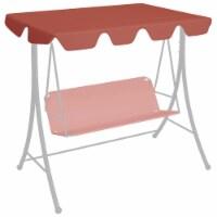 vidaXL Replacement Canopy for Garden Swing Terracotta 74 /66.1 x43.3 /57.1 - 248 x 186 cm