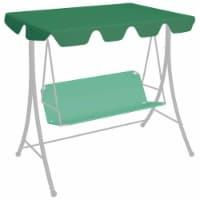 vidaXL Replacement Canopy for Garden Swing Green 74 /66.1 x43.3 /57.1 - 248 x 186 cm